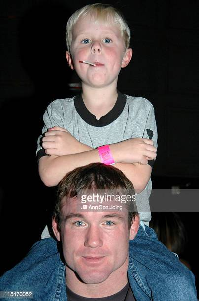 Matt Hughes during The Ultimate Fighter WeighIn November 4 2005 at Hard Rock Hotel in Las Vegas Nevada United States