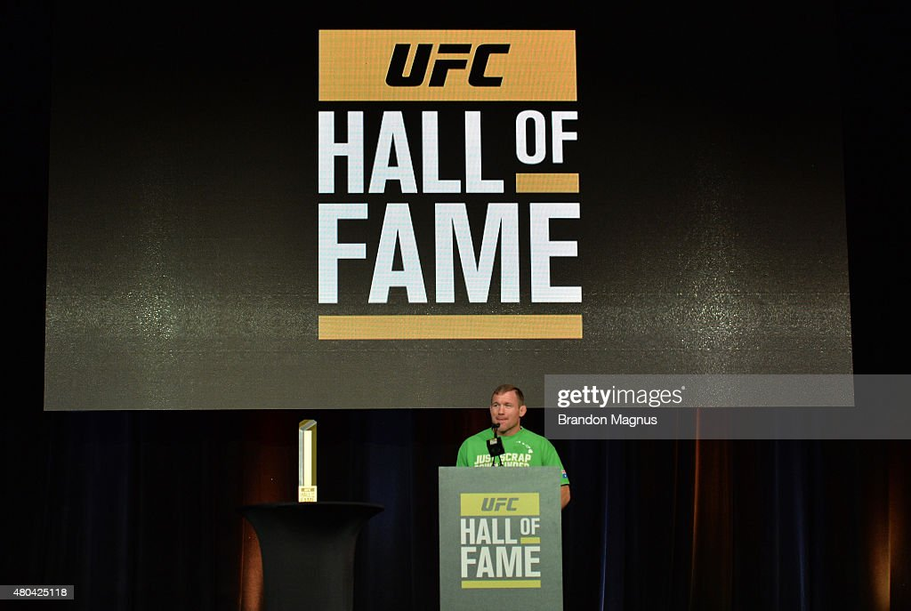 UFC Hall of Fame 2015 Induction Ceremony : News Photo
