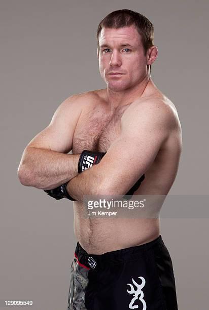 Matt Hughes poses for a portrait on May 10 2011 in Las Vegas Nevada