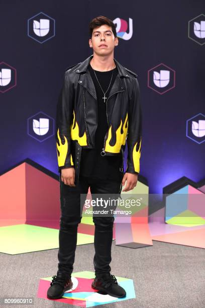 Matt Hunter attends the Univision's 'Premios Juventud' 2017 Celebrates The Hottest Musical Artists And Young Latinos ChangeMakers at Watsco Center on...