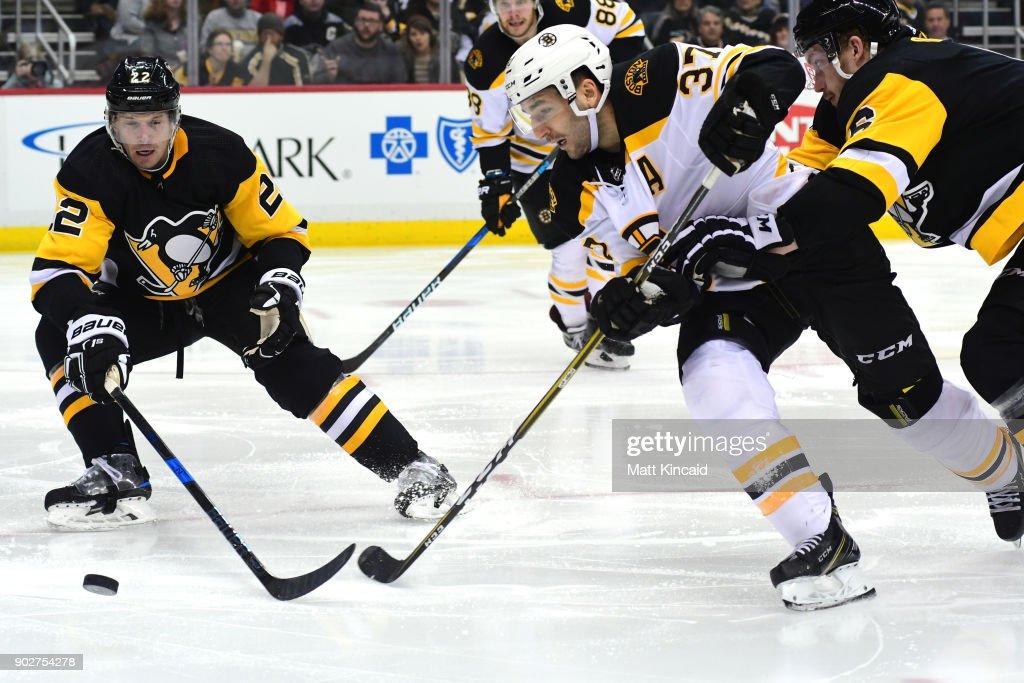 Boston Bruins v Pittsburgh Penguins : News Photo