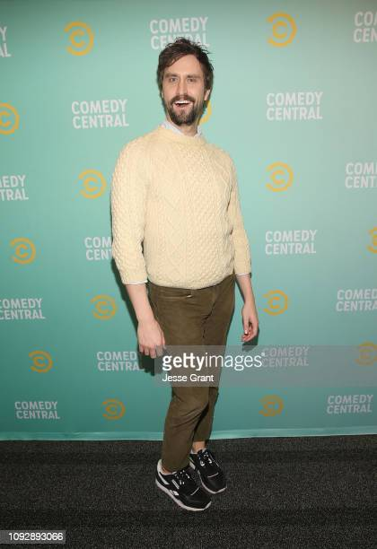 Matt Ingebretson attends the 2019 Comedy Central Press Day on January 11 2019 in Hollywood California