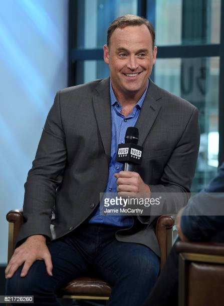 Matt Iseman attends Build to discuss 'American Ninja Warrior' at Build Studio on July 24 2017 in New York City