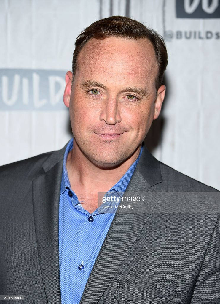 Matt Iseman attends Build to discuss 'American Ninja Warrior' at Build Studio on July 24, 2017 in New York City.