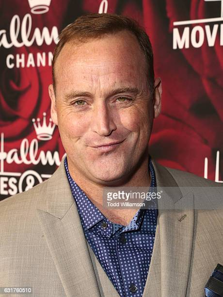 Matt Iseman attends the Hallmark Channel And Hallmark Movies And Mysteries Winter 2017 TCA Press Tour at The Tournament House on January 14 2017 in...