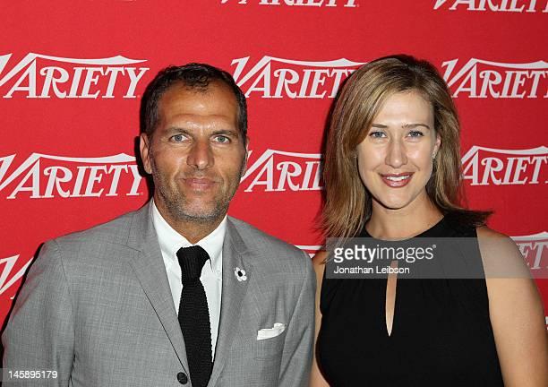Matt Jacobson Head of Market Development Facebook and Amy Powell President Insurge Pictures President Paramount Digital Entertainment attend MASSIVE...