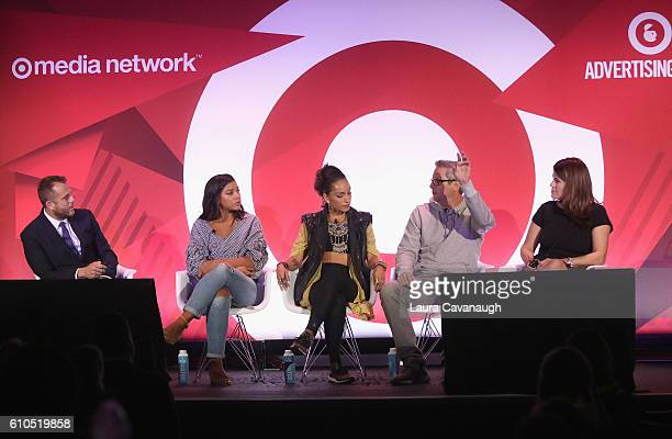 Matt Jarvis Hannah Bronfman Robin Arzonl Jon Wexler and Taj Alavi speak onstage during the It's Not About You A Discussion About Authenticity in...