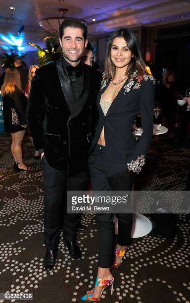 Matt Johnson and Katie Keight attend the Newport Beach Film Festival UK Honours in association with Visit Newport Beach at The Rosewood Hotel on...
