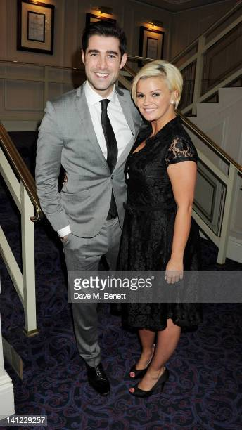 Matt Johnson and Kerry Katona arrive at the TRIC Television and Radio Industries Club Awards at The Grosvenor House Hotel on March 13 2012 in London...