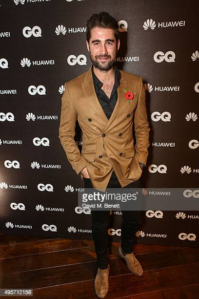 Matt Johnson at the Huawei Watch Launch event at Mondrian Hotel on November 4 2015 in London England