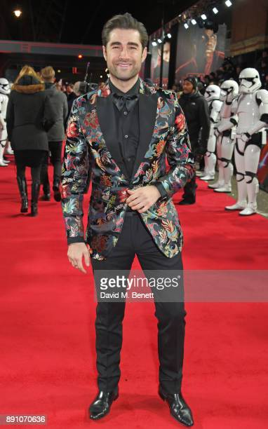 Matt Johnson attends the European Premiere of 'Star Wars The Last Jedi' at the Royal Albert Hall on December 12 2017 in London England