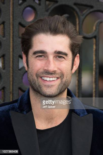 """Matt Johnson attends the World Premiere of """"The House With The Clock In Its Walls"""" at Westfield White City on September 5, 2018 in London, England."""