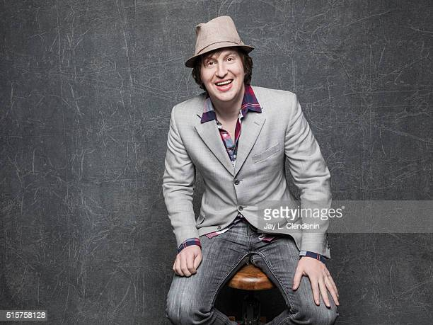 Matt Johnson of 'Operation Avalanche' poses for a portrait at the 2016 Sundance Film Festival on January 22 2016 in Park City Utah CREDIT MUST READ...