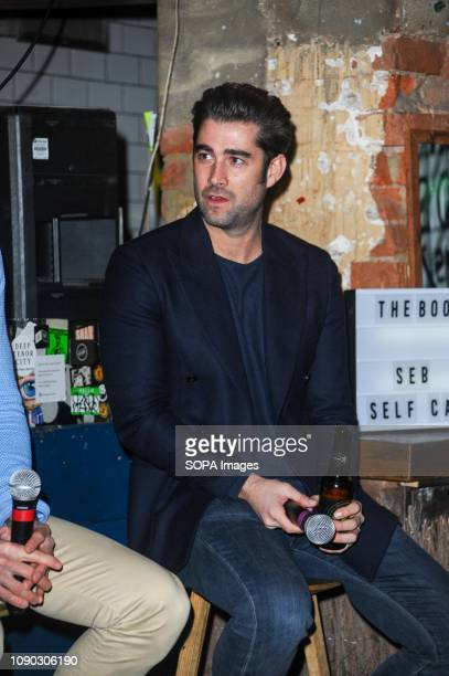 Matt Johnson seen during the discussion The Book of Man hosts discussion on food grooming and lifestyle with Seb Man a new grooming brand launched...