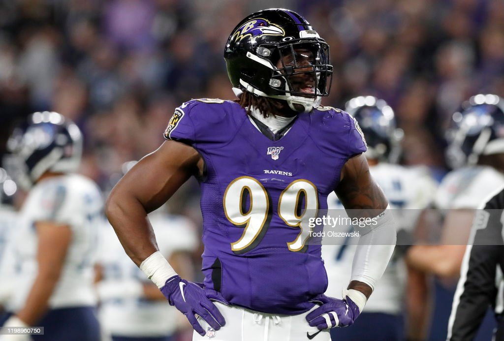 Divisional Round - Tennessee Titans v Baltimore Ravens : News Photo