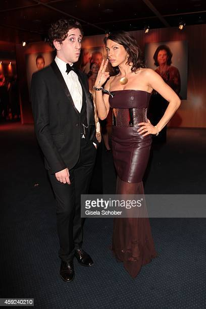 Matt Kaufman and Jana Pallaske during the Bambi Awards 2014 on November 13 2014 in Berlin Germany