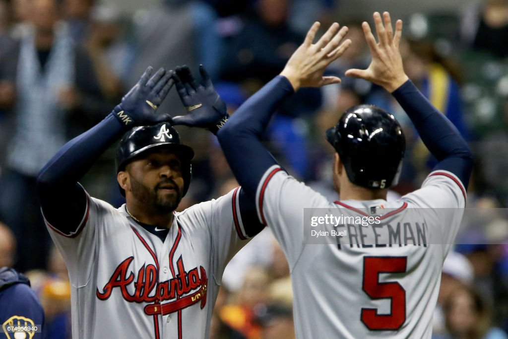 Atlanta Braves v Milwaukee Brewers : News Photo