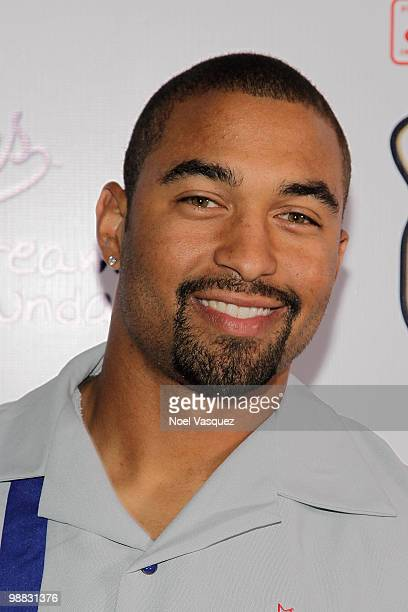 Matt Kemp attends the Los Angeles Dodger State Farm DDF Bowling Extravaganza at Lucky Strike Lanes LA Live on May 3 2010 in Los Angeles California