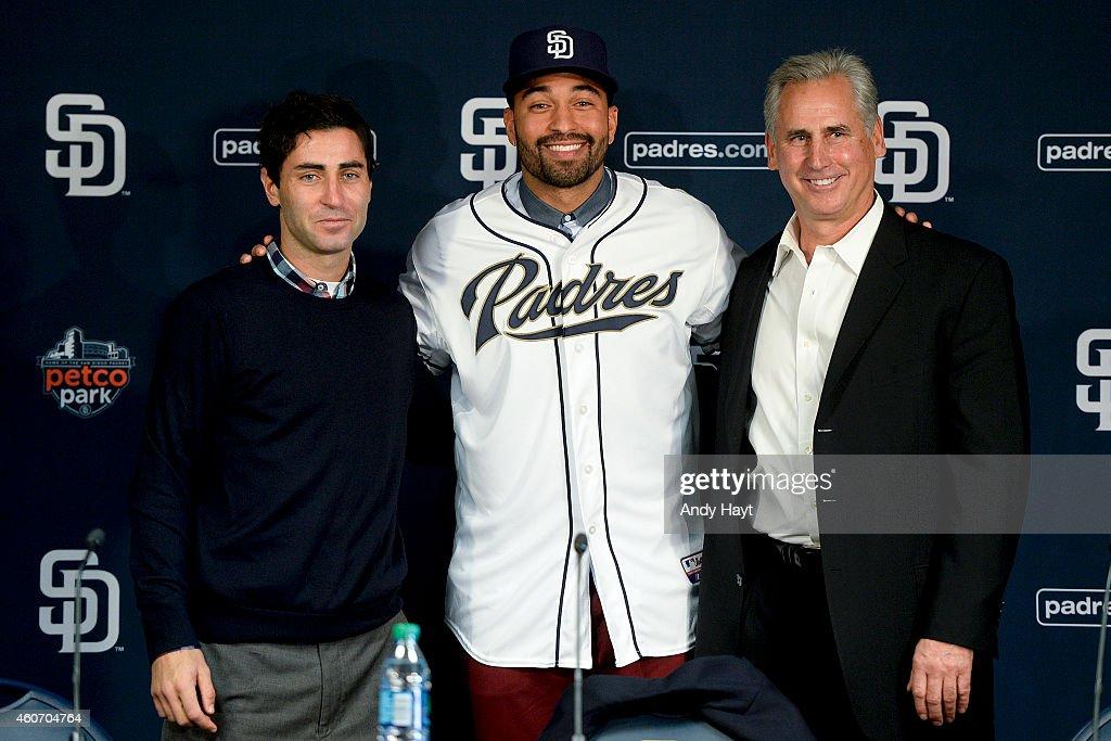 San Diego Padres Introduce Matt Kemp : News Photo