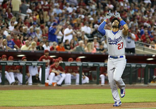 Matt Kemp of the Los Angeles Dodgers