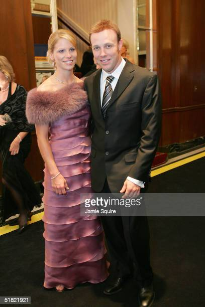 Matt Kenseth and his date attend the 2004 NASCAR Nextel Cup Awards at the Waldorf Astoria on December 3 2004 in New York City