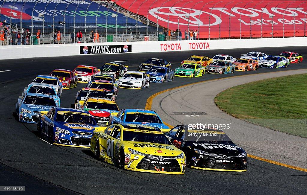 NASCAR Sprint Cup Series Bad Boy Off Road 300 : News Photo