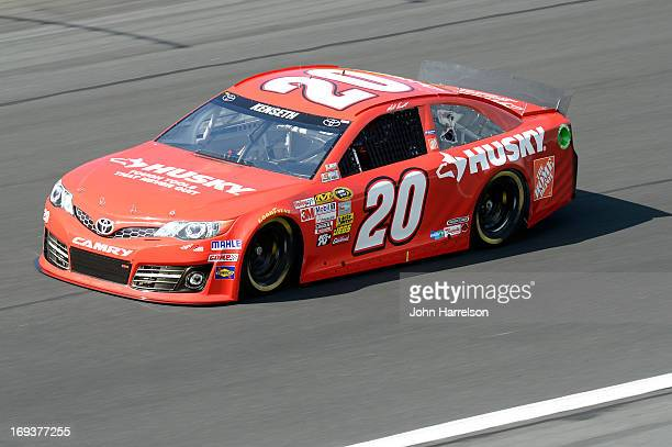 Matt Kenseth drives of the Home Depot/Husky Toyota during practice for the NASCAR Sprint Cup Series CocaCola 600 at Charlotte Motor Speedway on May...
