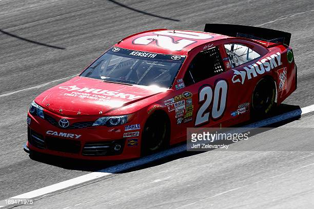 Matt Kenseth drives the Home Depot/Husky Toyota during practice for the NASCAR Sprint Cup Series CocaCola 600 at Charlotte Motor Speedway on May 25...
