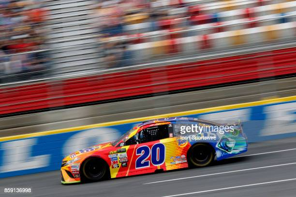 Matt Kenseth Joe Gibbs Racing Tide Pods Toyota Camry during the running of the Bank of America 500 on October 8 at Charlotte Motor Speedway in...