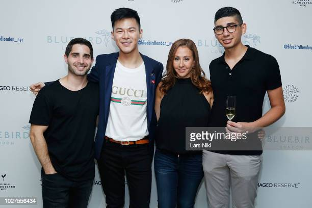Matt Kirschner and Beth Sobel attend the Bluebird London New York City launch party at Bluebird London on September 5 2018 in New York City
