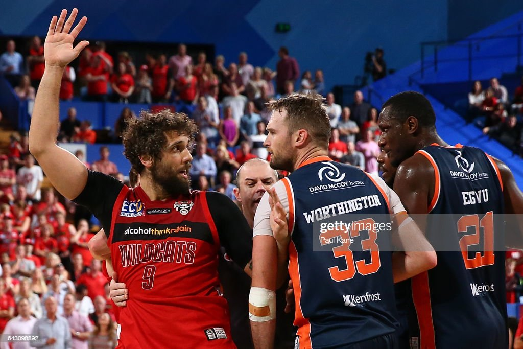 NBL Semi Final - Perth v Cairns: Game 2