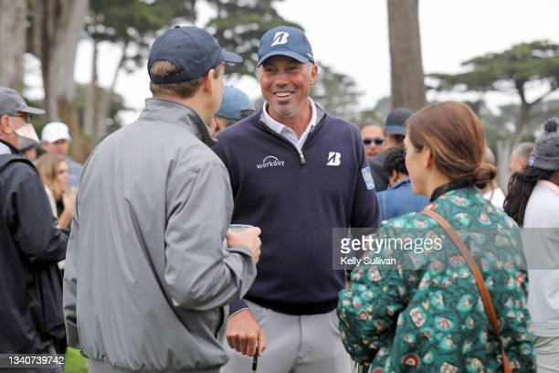 Matt Kuchar attends The Workday Charity Classic, hosted by Stephen and Ayesha Curry's Eat. Learn. Play. And Workday, at Franklin Elementary School on...