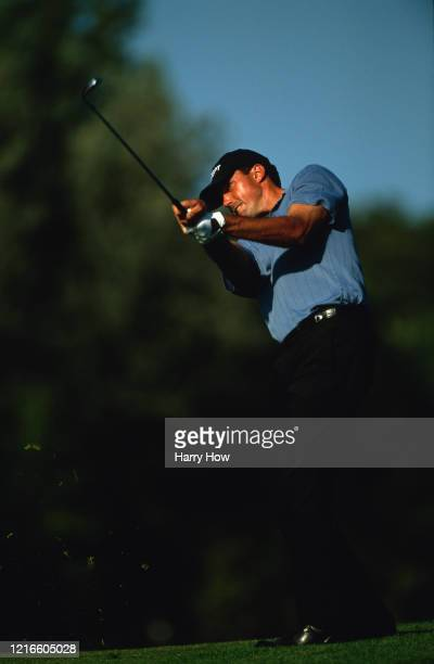 Matt Kuchar of the United States keeps his eye on the ball as he drives off the tee during the Bell Canadian Open golf tournament on 6th September...