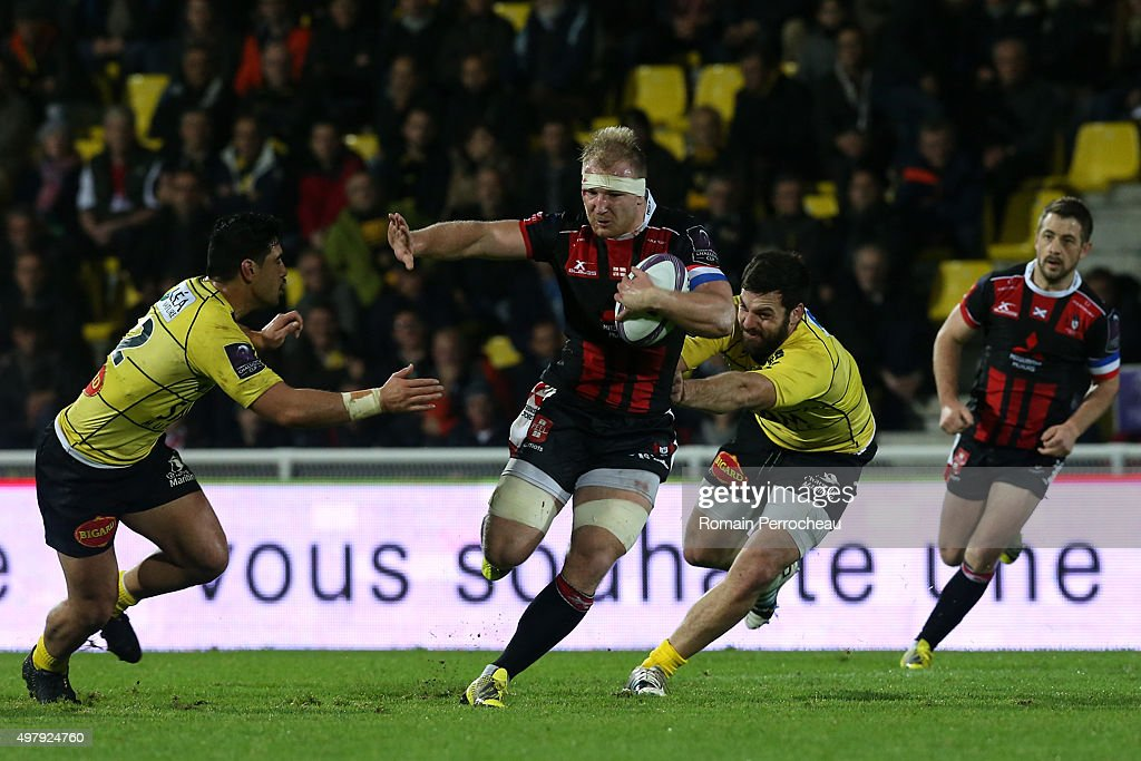 La Rochelle v Gloucester Rugby - European Rugby Challenge Cup : News Photo