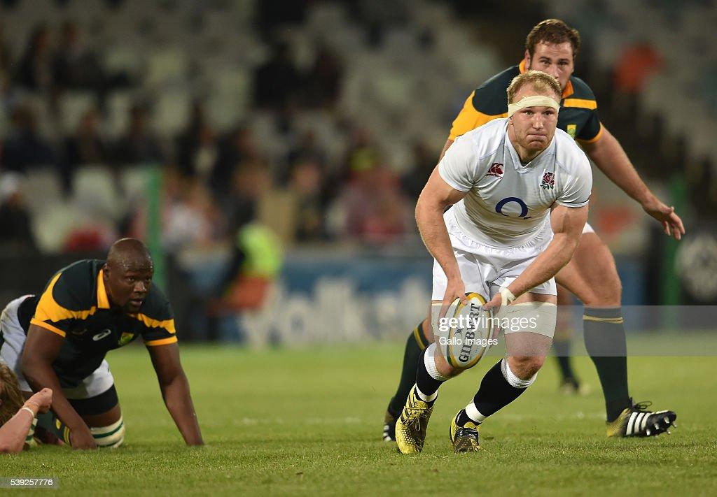 South Africa A v England Saxons : News Photo