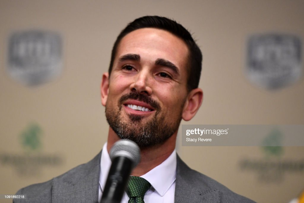Green Bay Packers Introduce Matt LaFleur - Press Conference : News Photo