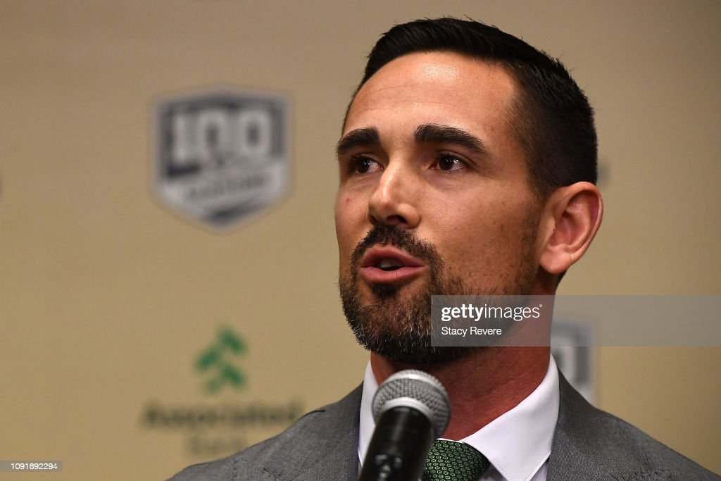 Green Bay Packers Introduce Matt LaFleur - Press Conference : News Photo