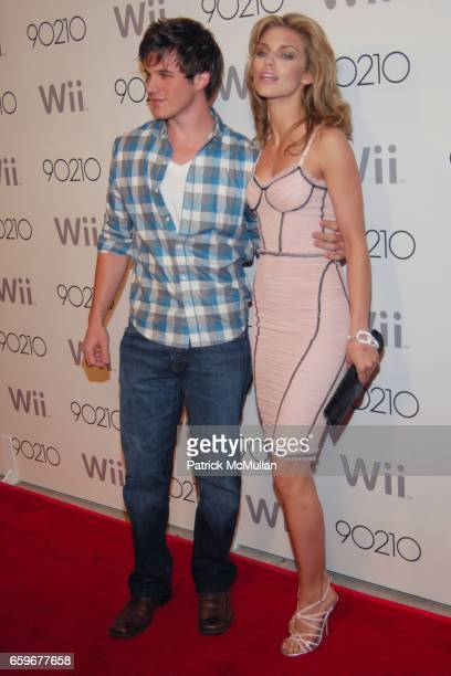 Matt Lanter and AnnaLynne McCord attend 90210 SEASON WRAP PARTY at Coco de Ville on March 21 2009 in West Hollywood California