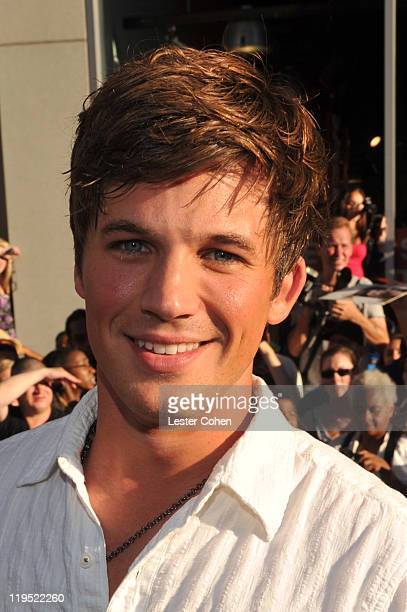 Matt Lanter attends the Captain America The First Avenger Los Angeles Premiere at the El Capitan Theatre on July 19 2011 in Hollywood California