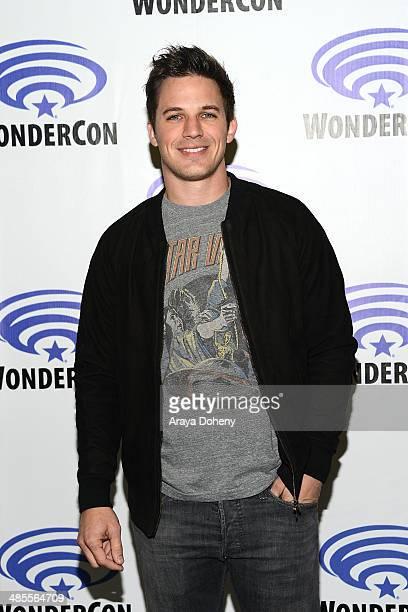 Matt Lanter attends the Star Crossed press panel at WonderCon Anaheim 2014 Day 1 at Anaheim Convention Center on April 18 2014 in Anaheim California