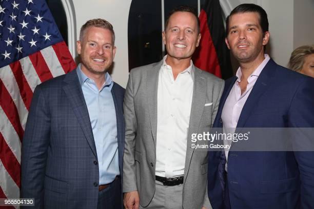 Matt Lashey Ambassador Richard Grenell and Donald Trump Jr attend Ambassador Grenell Goodbye Bash on May 6 2018 in New York City