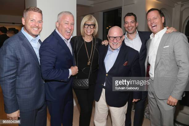Matt Lashey Bill White Ed Rollins Bryan Eure and Ambassador Richard Grenell attend Ambassador Grenell Goodbye Bash on May 6 2018 in New York City