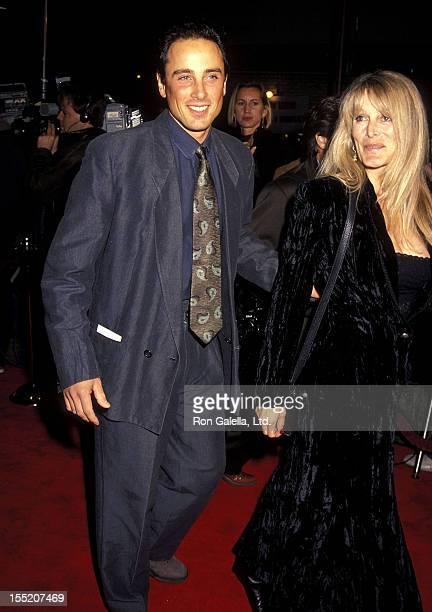 Matt Lattanzi and Rona NewtonJohn attend A Few Good Men Westwood Premiere on December 9 1992 at Mann Village Theatre in Westwood California