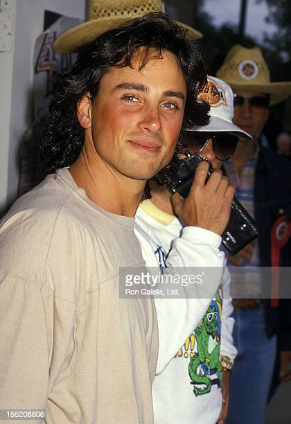 Matt Lattanzi attends the 12th Annual Great Coldwater Canyon Chili Cookoff to Benefit St Michael's and All Angels School on May 7 1988 at St...