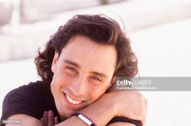 Matt Lattanzi lors du Festival de Cannes en mai 1989, France.