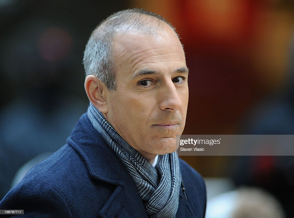 Matt Lauer attends NBC's 'Today' at Rockefeller Plaza on November 20, 2012 in New York City.