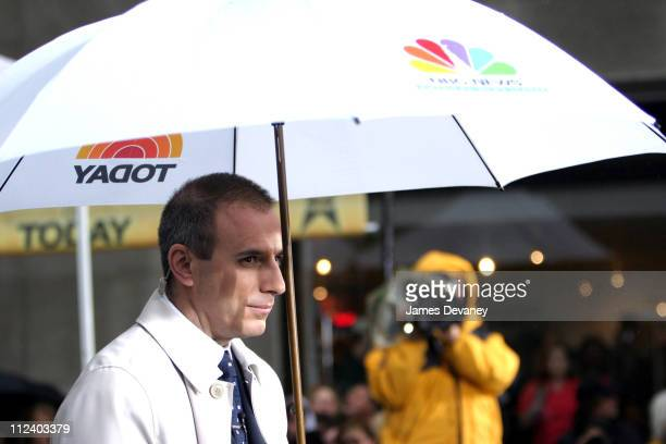 Matt Lauer during Ricky Martin Performs on 'The Today Show' Summer Concert Series May 21 2003 at NBC Studios Rockafeller Plaza in New York City New...