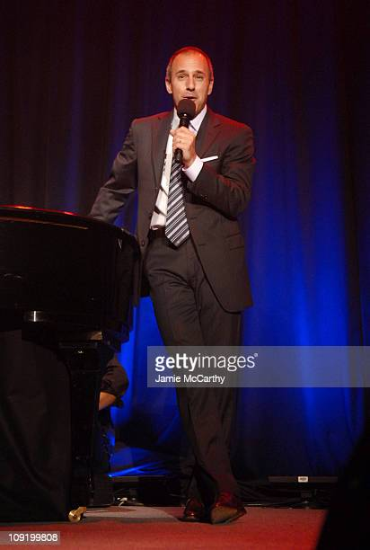 Matt Lauer hosts Sesame Workshop's 5th Annual Benefit Gala Wednesday May 30th at Cipriani 42nd Street Proceeds from the benefit will help fun Sesame...