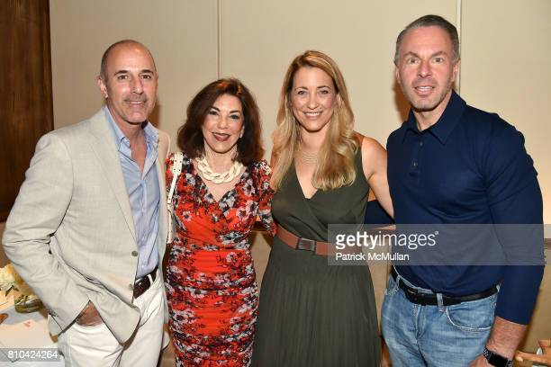 Matt Lauer Karen Sachs Cindy Wenig and Devin Wenig attend eBay Hosts July 4th Benefit for Sag Harbor Cinema Restoration Project at Lulu Kitchen and...