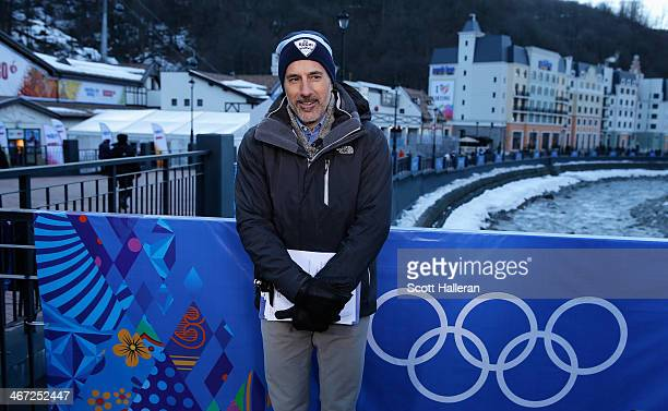 Matt Lauer reoprts for the NBC TODAY Show in the Rosa Khutor Mountain Village ahead of the Sochi 2014 Winter Olympics on February 6, 2014 in Sochi,...